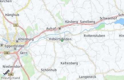 Stadtplan Hebertsfelden