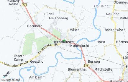 Stadtplan Hechthausen