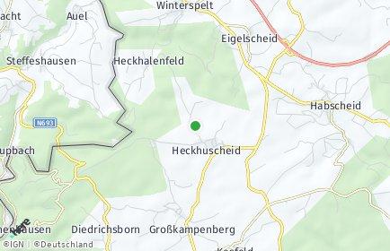 Stadtplan Heckhuscheid