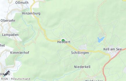 Stadtplan Heddert