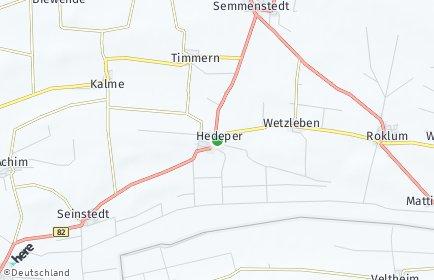 Stadtplan Hedeper