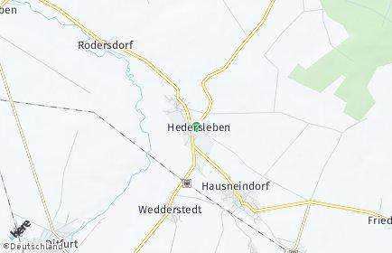 Stadtplan Hedersleben