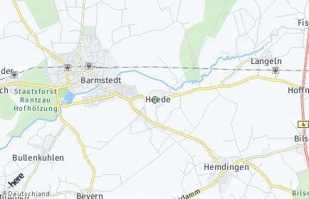 Stadtplan Heede (Holstein)