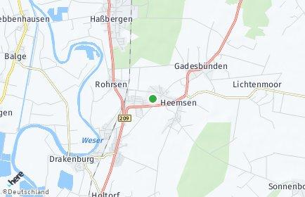 Stadtplan Heemsen