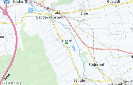 Stadtplan Heere