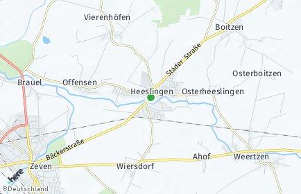 Stadtplan Heeslingen