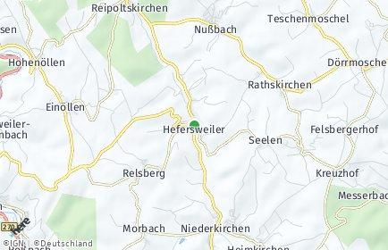 Stadtplan Hefersweiler