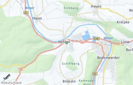 Stadtplan Hehlen