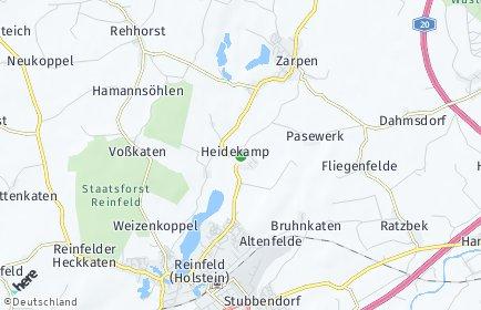 Stadtplan Heidekamp