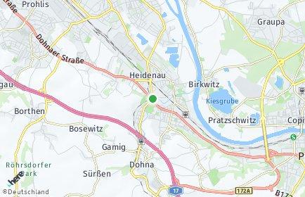 Stadtplan Heidenau