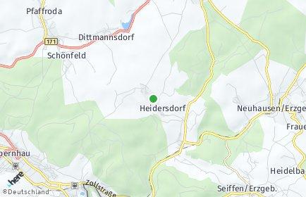Stadtplan Heidersdorf