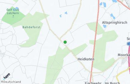 Stadtplan Heidmoor