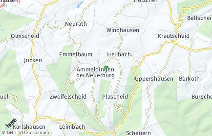 Stadtplan Heilbach