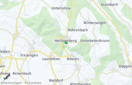 Stadtplan Heiligenberg