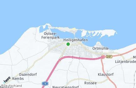heiligenhafen karte deutschland PLZ Heiligenhafen mit Karte | Postleitzahlen 23774 Schleswig Holstein