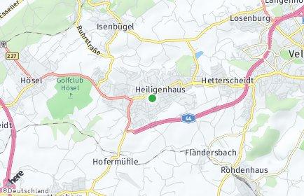 Stadtplan Heiligenhaus OT Beeker