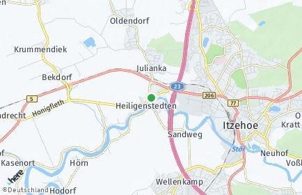 Stadtplan Heiligenstedten