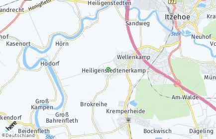 Stadtplan Heiligenstedtenerkamp