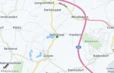 Stadtplan Heilshoop