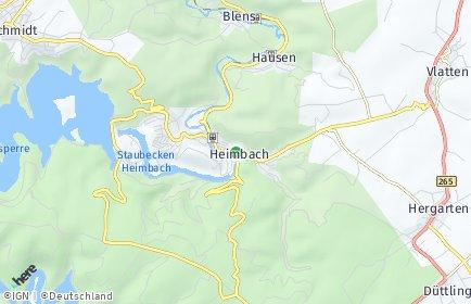 Stadtplan Heimbach (Eifel)