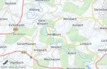 Stadtplan Heimborn