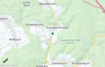 Stadtplan Heimbuchenthal