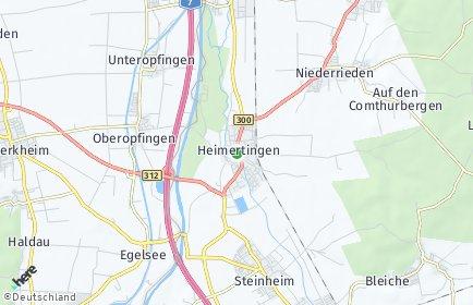 Stadtplan Heimertingen
