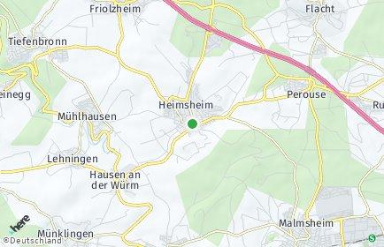 Stadtplan Heimsheim