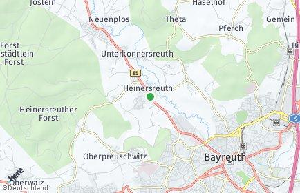 Stadtplan Heinersreuth