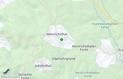 Stadtplan Heinrichsthal