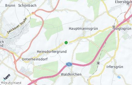 Stadtplan Heinsdorfergrund