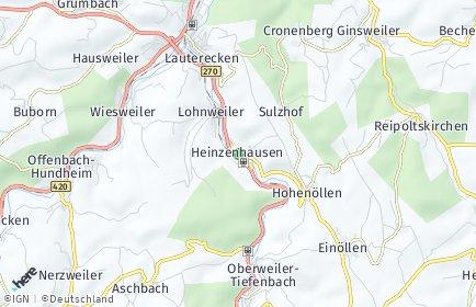 Stadtplan Heinzenhausen