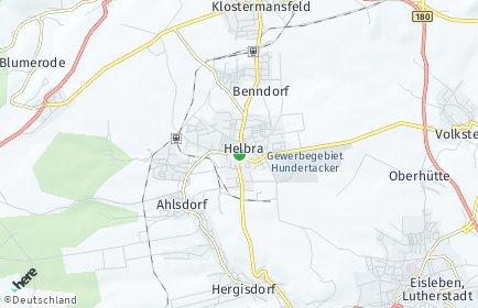 Stadtplan Helbra
