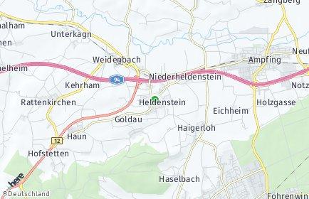 Stadtplan Heldenstein