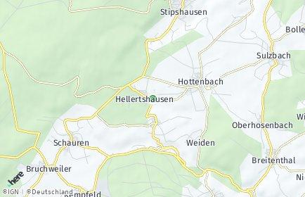 Stadtplan Hellertshausen