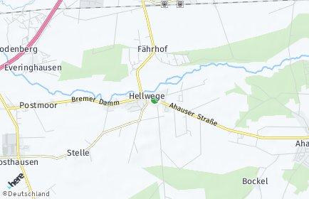Stadtplan Hellwege