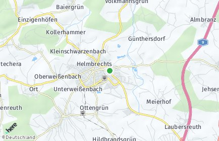 Stadtplan Helmbrechts
