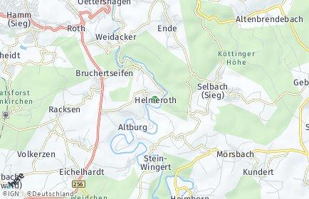 Stadtplan Helmeroth