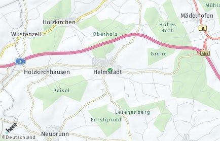 Stadtplan Helmstadt