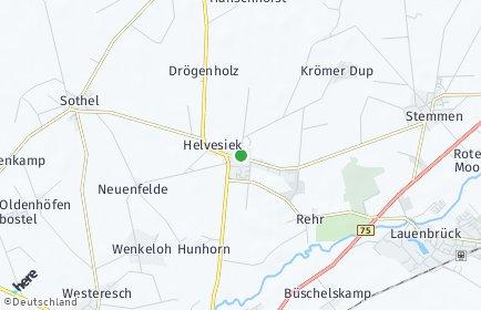 Stadtplan Helvesiek