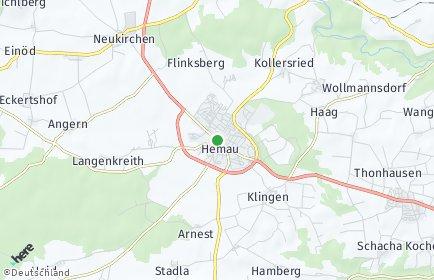 Stadtplan Hemau OT Mungenhofen