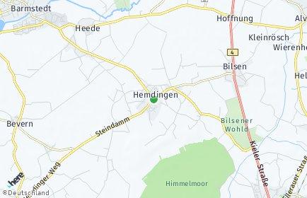 Stadtplan Hemdingen