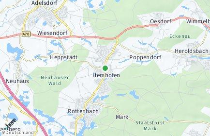 Stadtplan Hemhofen