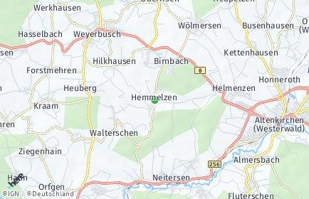Stadtplan Hemmelzen