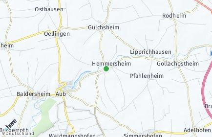 Stadtplan Hemmersheim