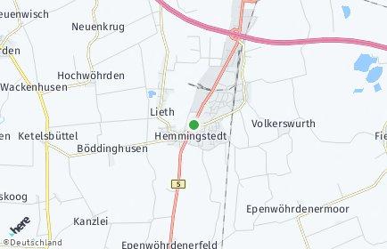 Stadtplan Hemmingstedt