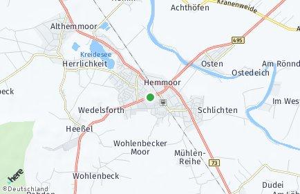 Stadtplan Hemmoor