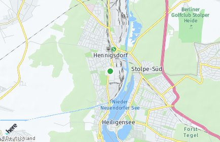 Stadtplan Hennigsdorf