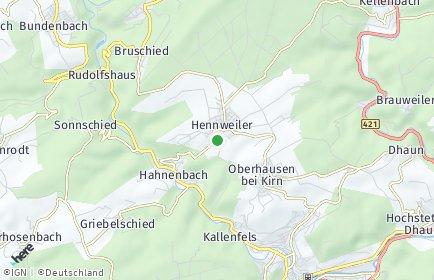 Stadtplan Hennweiler