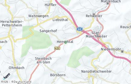 Stadtplan Henschtal